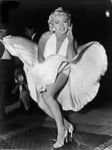 L'indimenticata Marilyn Monroe - Clicca per ingrandire