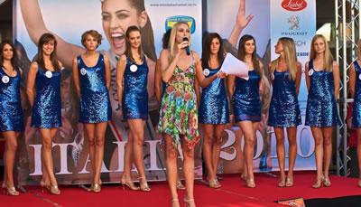 Selezione Regionale di Miss Italia giovedì 4 agosto 2011 al Palmanova Outlet Village
