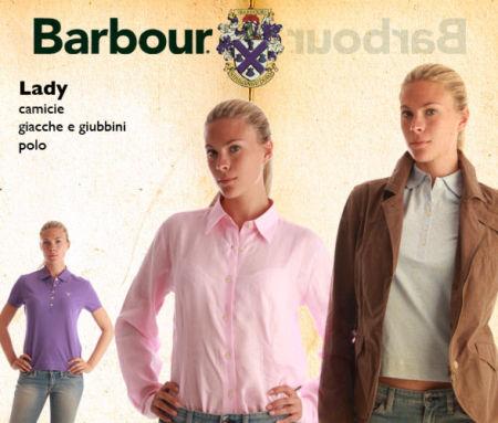 Saldi privati BARBOUR su abbigliamento donna: camicie, giacche, polo e giubbini scontati.