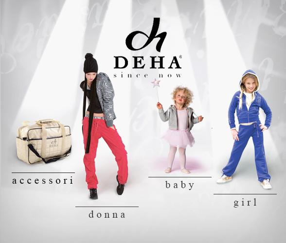 Saldi privati DEHA attivi da giovedì 3 a lunedì 7 settembre 2009 con sconti del 50%.