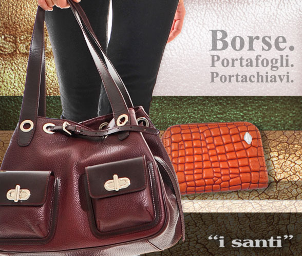 buy popular d7835 a0348 Borse portafogli e portachiavi I Santi, Saldi Privati a ...