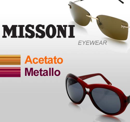 Saldi privati MISSONI EYEWEAR: sconti dell'80% e oltre su occhiali da sole per donna e unisex.
