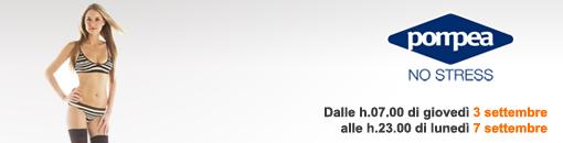 Iscriviti a Saldiprivati.com e inizia a risparmiare! I saldi Pompea offrono calze, intimo e molto altro ancora a prezzi super scontati!