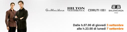 Saldiprivati.com propone camicie GianMarcoVenturi, Balenciaga, Cerruti 1881 e Hilton Vestimenta scontate del 50%!