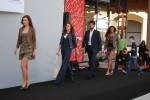 Mondovicino Outlet, un momento della sfilata di presentazione della nuova collezione primavera estate di domenica 8 marzo 2009 in occasione della Festa della Donna - Clicca per ingrandire