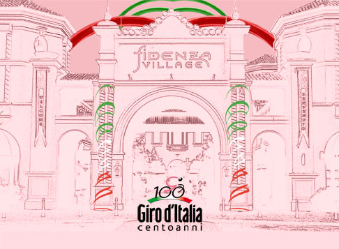 Fidenza Outlet Village presenta la mostra del Centenario del Giro d'Italia