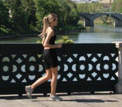 Fitwalking sul ponte