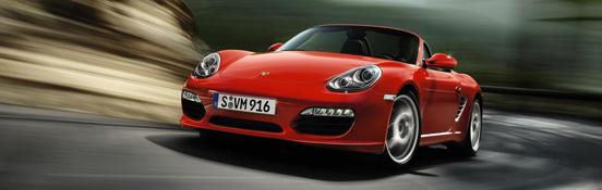 Il nuovo modello di Porsche Boxster
