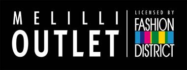 Il logo ufficiale di Melilli Outlet, nuovo outlet siciliano situato a 10 Km da Siracusa, in Sicilia.