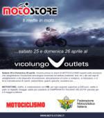 Vicolungo Outlets, due giorni dedicati alla sicurezza su strada per gli amanti delle motociclette - Clicca per ingrandire