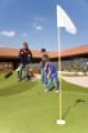 Mondovicino mette a disposizione dei propri visitatori uno splendido campo di golf in sintetico da 9 buche - Clicca per ingrandire