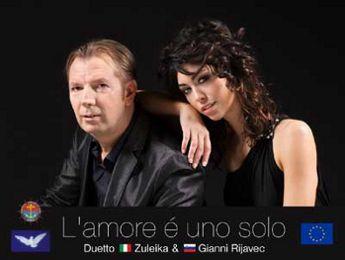 Zuleika Morsut e Gianni Rijavec si esibiranno giovedì 7 luglio 2011 al Palmanova Outlet Village.