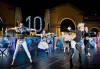 Lo spettacolo di danza in Piazza della Fontana - Clicca per ingrandire.