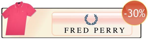 Polo a maniche corte Fred Perry scontate del 30%