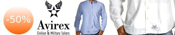 Shopping club Unionoutlet - Sconti del 50% su camicie uomo griffate Avirex