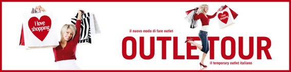 OutleTour: il Temporary Outlet Italiano